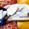 Atelier 5eme année ESBAM, huile sur toile, 2,25x1 m, 1993-1198