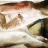 San titre, huile sur toile, 2,25x1 m, 1993-1198