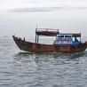 Bateau de pêcheur à Nha Trang